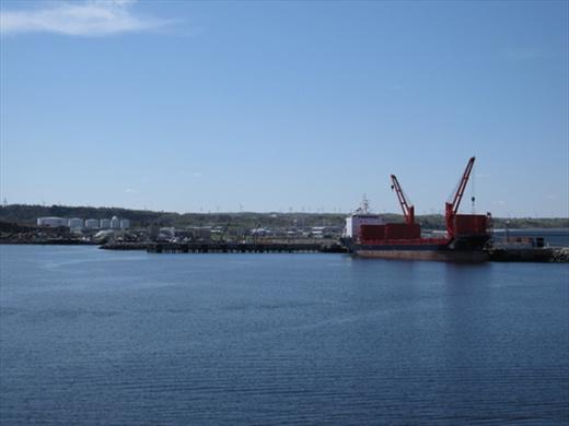 Matane harbor, QC.