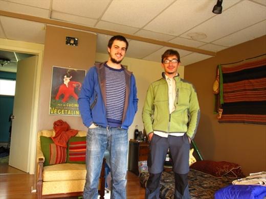 Olivier & me, Amqui, QC.