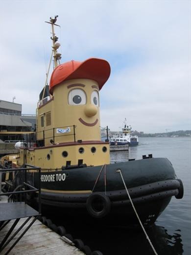 Halifax harbour, NS