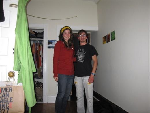 Ariane, my hoster in Halifax!