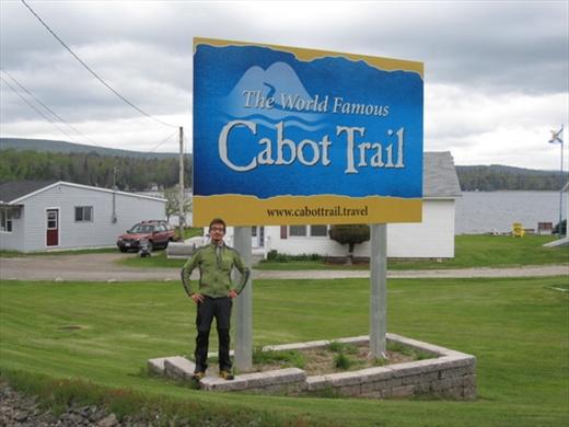Here we go, the Cabot Trail! Cape Breton Island, NS