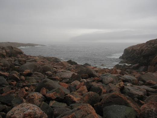 East side of Cabot trail, near Breton Cove, NS