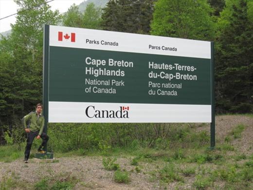 Cape Breton Island National Park, north NS