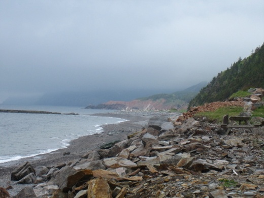 West side of Cabot Trail, near Cheticamp, NS
