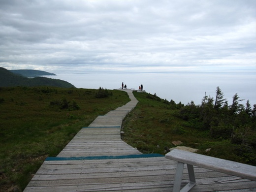 Lookout view. Skyline trail, Cape Breton Island National Park, NS
