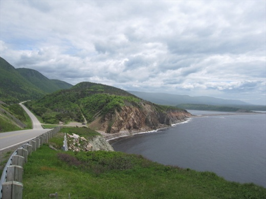 Cabot Trail near Cheticamp, NS