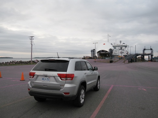 Waiting for the ferry to PEI, Caribou, NS