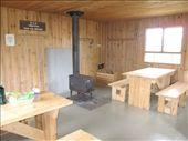 Lunch stop! Winter refuge, Abri de la Serpentine, 565m. Parc National de la Gaspesie, QC: by michelefacciotto, Views[940]