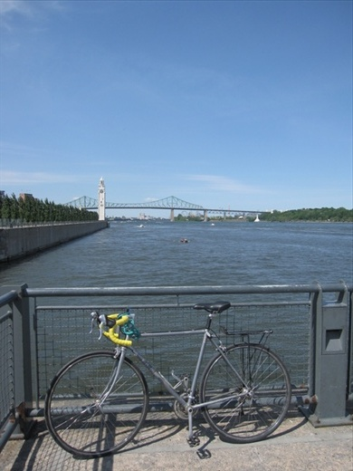 Absolutely bike! Vieux Port, Montreal