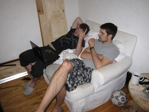 Couchsurfing hosters, Boris and Jean!
