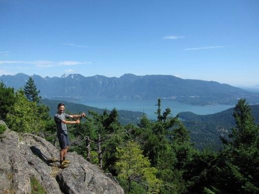 Hike to Mount Gardner, Bowen Island, BC