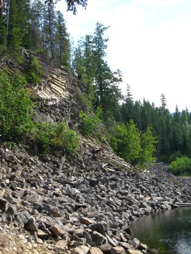 Look that rocks! Logger's Lake, BC