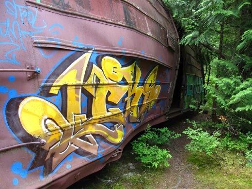The train crash!