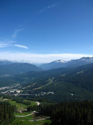 Goin' up to Whistler Mountain!