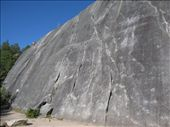 First look at the granite walls of