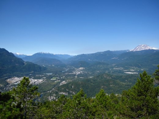 The Sea to sky Highway that brings to Whistler.