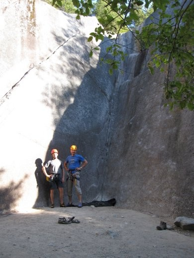 Back on rock climbing for the last day!