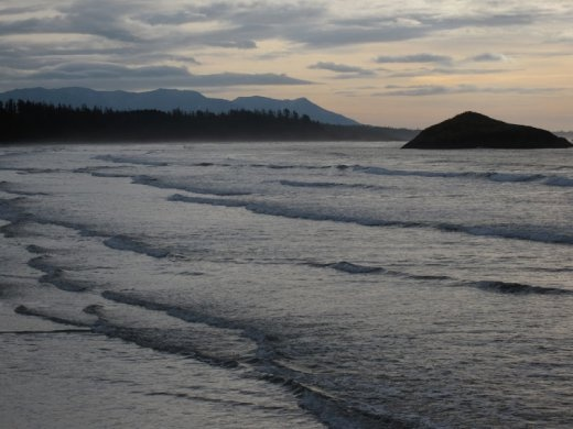Sunrise at MacKenzie Beach, Tofino, BC