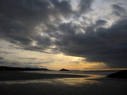 Sunrise at MacKenzie Beach, Tofino, BC