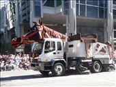 They turned their rubbish trucks into horses etc for Stampede week: by michy, Views[149]