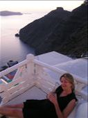 This is the night of sunsets & mojitos in Santorini. Very romantic-ky. : by mick-and-fi, Views[228]