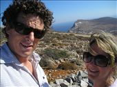 This photo was taken at the top of Folegandros Island- no mean feat. We earned our Greek food that day! : by mick-and-fi, Views[129]