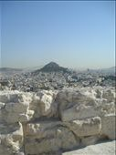 The view from the Acropolis to Lyktovasis (sounds like) Hill over Athens : by mick-and-fi, Views[128]
