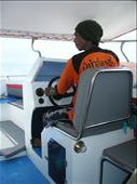 Our high speed boat driver to Koh Samet. No mucking around. : by mick-and-fi, Views[411]