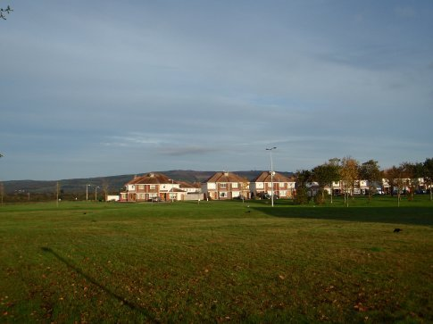 A view from a far of a small part of the Shannon Vale estate where our house is