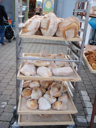 Fresh bread - nothing better (it was very tasty)