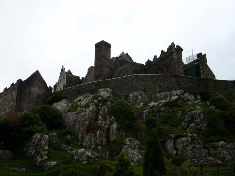 At the bottom of the Rock of Cashel