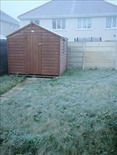 The backyard all frosted up - the photo doesn't do it justice: by milko_rosie, Views[181]