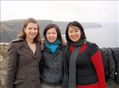 Em, Amanda, and Nic at the Cliffs of Moher: by milko_rosie, Views[198]