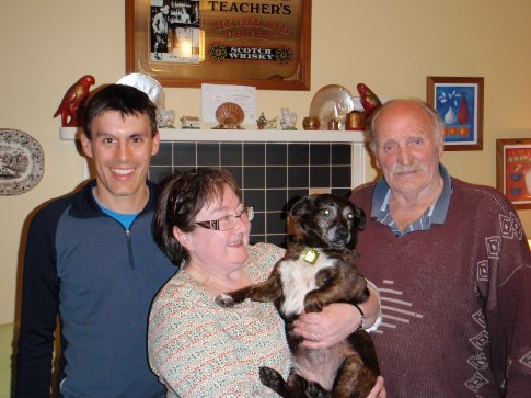 Maneesh, Jean (Maneesh's grandfather's half-sister) and her uncle Ernie.