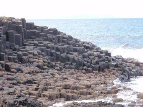 The Giant's Causeway, Co. Antrim.