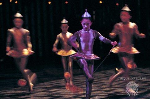 Cirque Du Soliel - This was amazing!