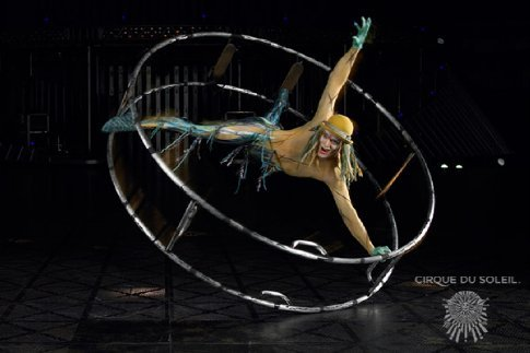 Cirque Du Soleil - He just makes it look so easy.