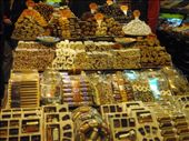 Turkish sweets at the Grande Bazaar. So much choice.: by milko_rosie, Views[556]