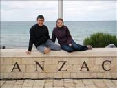 Maneesh and Emma at Anzac Cove.: by milko_rosie, Views[222]