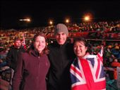 Emma, Maneesh, and Nicola (school friend of Maneesh's) at Anzac cove.: by milko_rosie, Views[101]