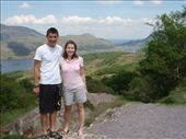 Maneesh and Emma with Killarney lakes in the background.: by milko_rosie, Views[199]