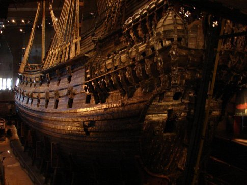The 'Vasa' ship, more than 300 years old!