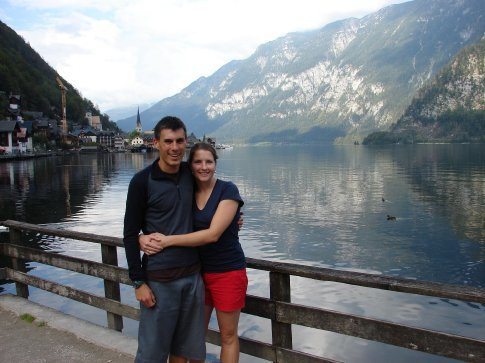 Us in Hallstatt.