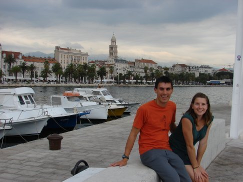 Us in Split.