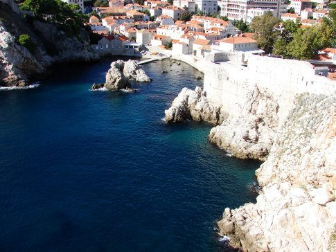 Dubrovnik on our day of exploring.