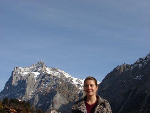 Em in Grindelwald.