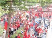 The 'Red Shirts' protesting near our hotel.: by milko_rosie, Views[215]