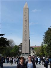 The Obelisk of Thutmose III in the Hippodrome near the Blue Mosque, Istanbul.: by milko_rosie, Views[680]