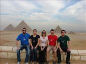 James, Em, Julz, David, and I at the pyramids.: by milko_rosie, Views[213]