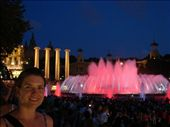 Em at the Magic Fountain. Very very cool!: by milko_rosie, Views[155]